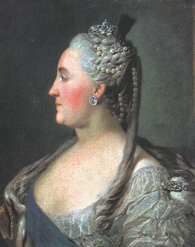 Portrait of Empress Catherine II. 1763