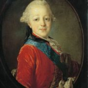 Portrait of Grand Duke Paul Petrovich in his Childhood, 1761