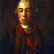 Portrait of P. B. Sheremetev