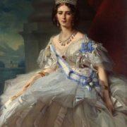 Portrait of Princess Tatiana Yussupova, nee Ribаuрiеrrе (1828-1879)