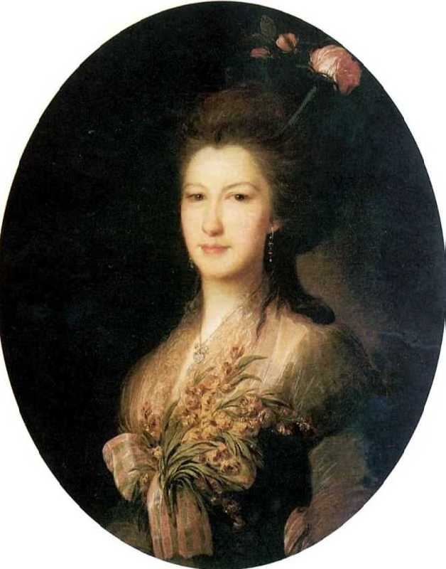 Portrait of the Countess Elizabeth Vasilyevna Santi