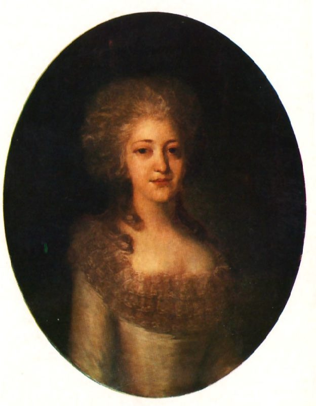 Portrait of the Unknown Woman. 1770
