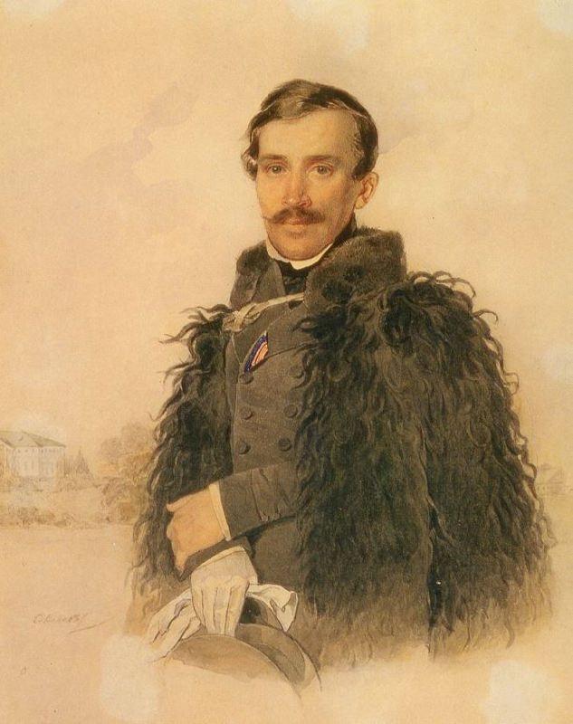Prince Mikhail Fedorovich Golitsyn (1800-1873)