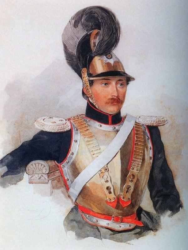 Sergei Fyodorovich Golitsyn (1812-1849), lieutenant. 1835