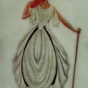 Sketch of the costume, magazine Atelier, 1923
