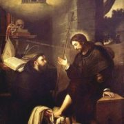 St. Augustine Washing the Feet of Christ, 1629