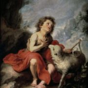 St. John the Baptist in his childhood