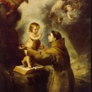 The vision of St. Anthony of Padua, between 1660 - 1680