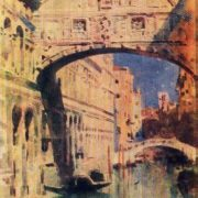 Venice. Bridge of Sighs. 1890s