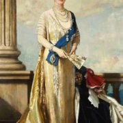 Victoria Maria Auguste Louise Olga Pauline Claudine Agnes van Teck, the wife of George V