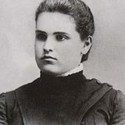 Young Vera Mukhina