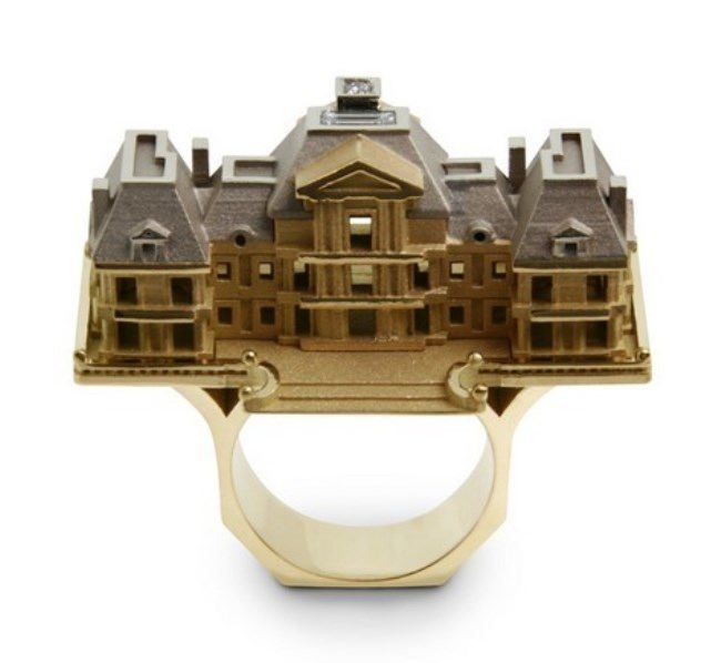 Beautiful ring by Philippe Tournaire