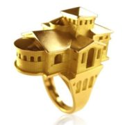 Dream house ring by Philippe Tournaire