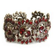 Gorgeous bracelet with garnet
