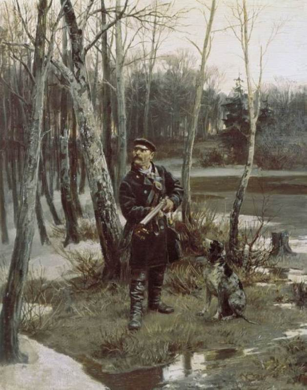 Hunting, 1881