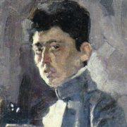 Isaak Brodsky, Self-portrait