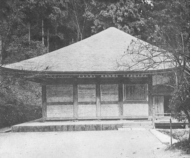 Kondo of the monastery in Nara, IX century