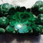 Malachite – false emerald from copper mines