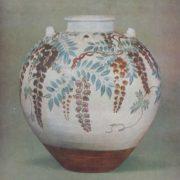 Ninsei Nonomura. Wonderful vessel, XVII century