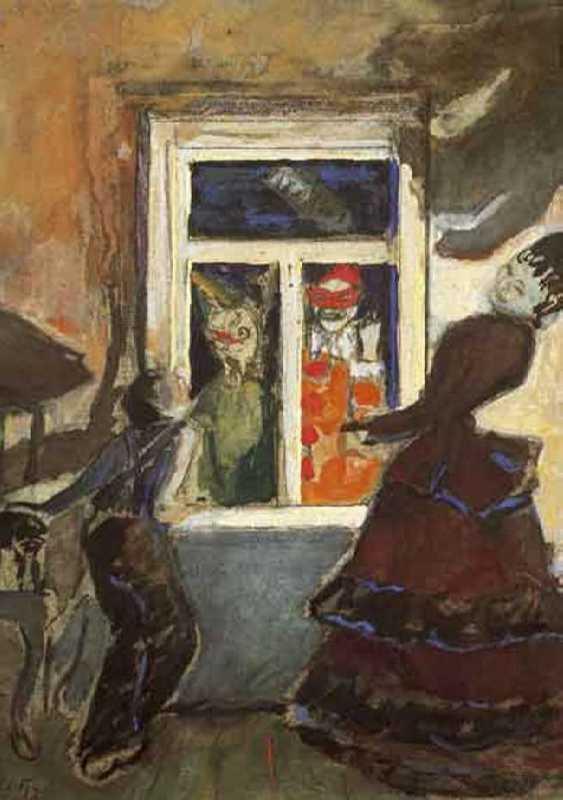 Picture by N. Sapunov, 1908