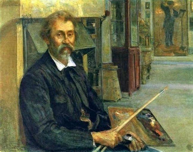 Portrait of I. Repin