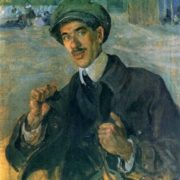 Portrait of K. Chukovsky