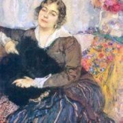 Portrait of Mrs. T