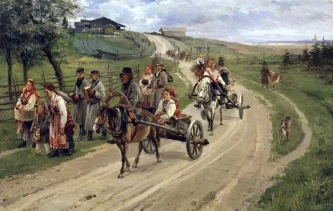 Return from Fair, 1883