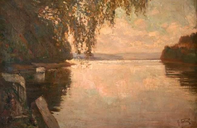 River by I. Brodsky