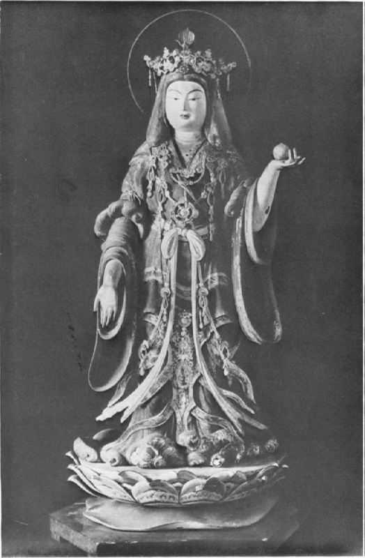 Statue of the Goddess, XII century