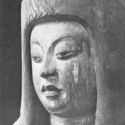Statue of the Shinto goddess, fragment, IX century