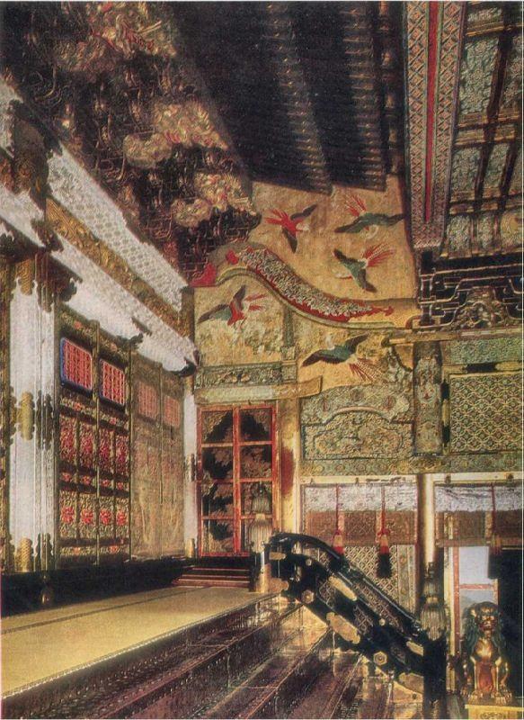 Stone Hall. Funerary ensemble in Nikko
