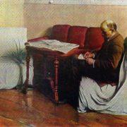 V.I. Lenin in the Smolny. 1930
