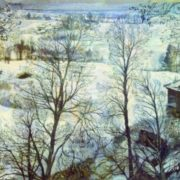 Winter landscape. 1917