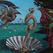 Birth of snake Venus by Bill Flowers