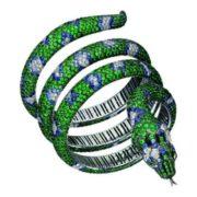 Green snake bracelet, Cabinet of Curiosities, Boucheron