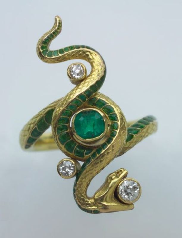 Magnificent snake jewelry