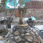 Monument to the Serpent in Sevastopol, Crimea, Russia