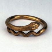 Ring excavated at Pompeii, Italy