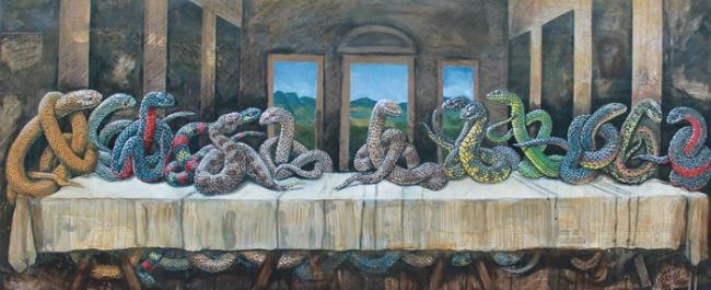 Serpents Supper by Bill Flowers