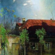 A small house in the province. Spring. 1878