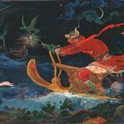 A. Kovalev. Trace of stoat by M. Kochnev