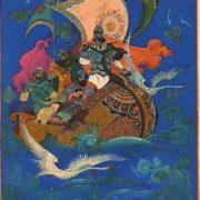 B. Kukuliev. Ermakov's swans by P. Bazhov