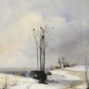 Early spring. Thaw. 1880