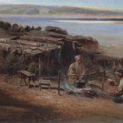 Fishermen on the Volga. 1872