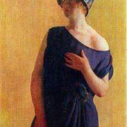 Irina Kustodieva. 1926