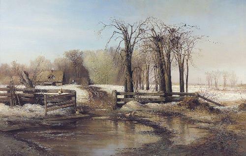 Russian landscape by Alexei Savrasov