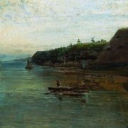 The Volga near Gorodets. 1870