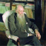 Writer D.L. Mordovtsev. 1901