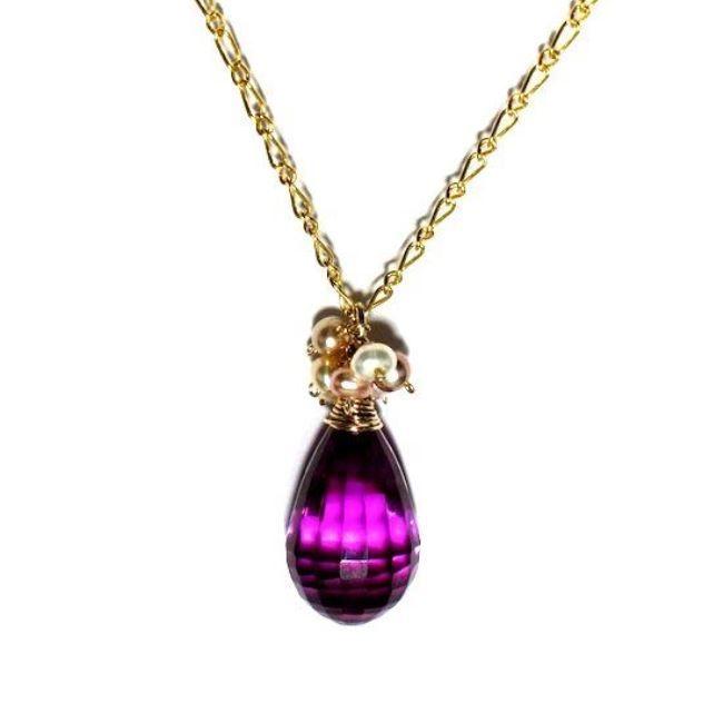 Amazing pendant with alexandrite